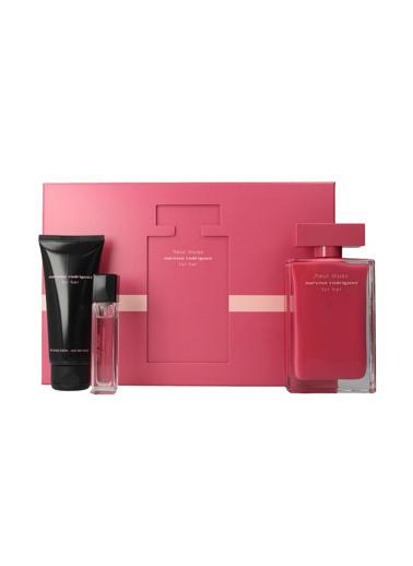 Narciso Rodriguez Fleur Musc EDP 100 ml + EDP 10 ml + Body Lotion 75 ml Kadın Parfüm Seti Renksiz